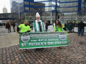 St. Patrick and Banner Carriers
