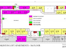 Plankinton Lofts - Fifth Floor