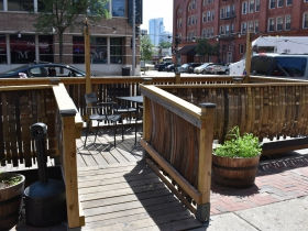 Parklet at The Pub Club
