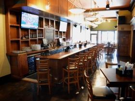 Bar at Who's on Third.