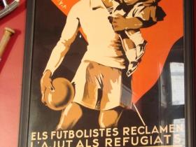 Soccer poster.