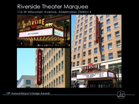 Riverside Theater Marquee
