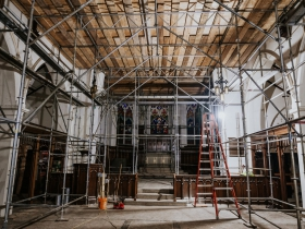 St. James Church - During Renovation