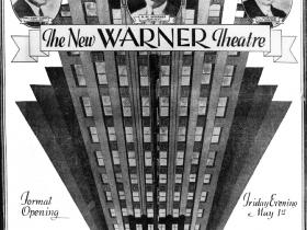 Warner opening advertisement.