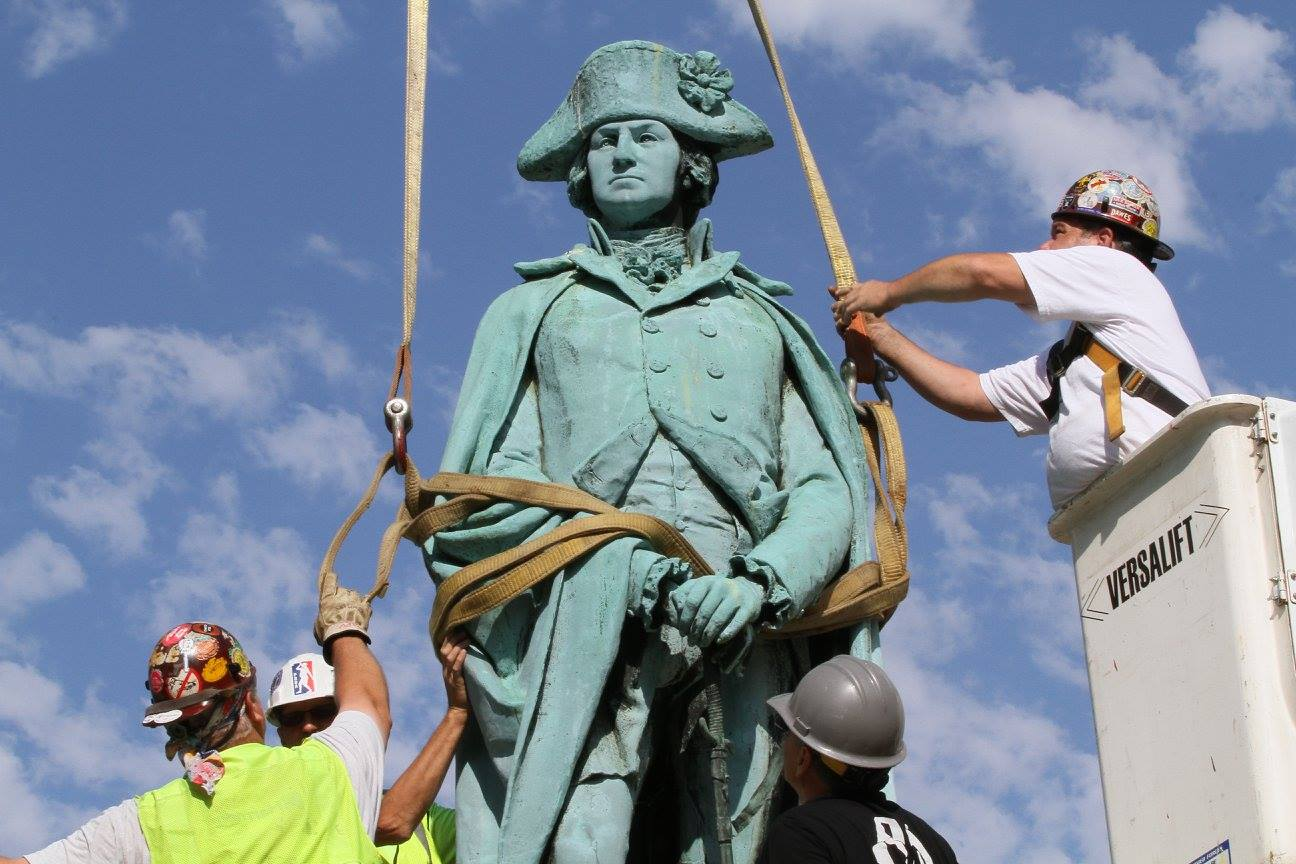 George Washington Statue Removal