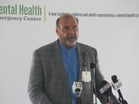 Pete Carlson at Milwaukee County Mental Health Emergency Center Ceremony