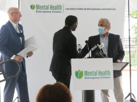 Crowley Presents Richard Canter with Proclamation at Milwaukee County Mental Health Emergency Center Ceremony