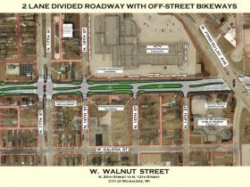 W. Walnut St. Redesign Plan