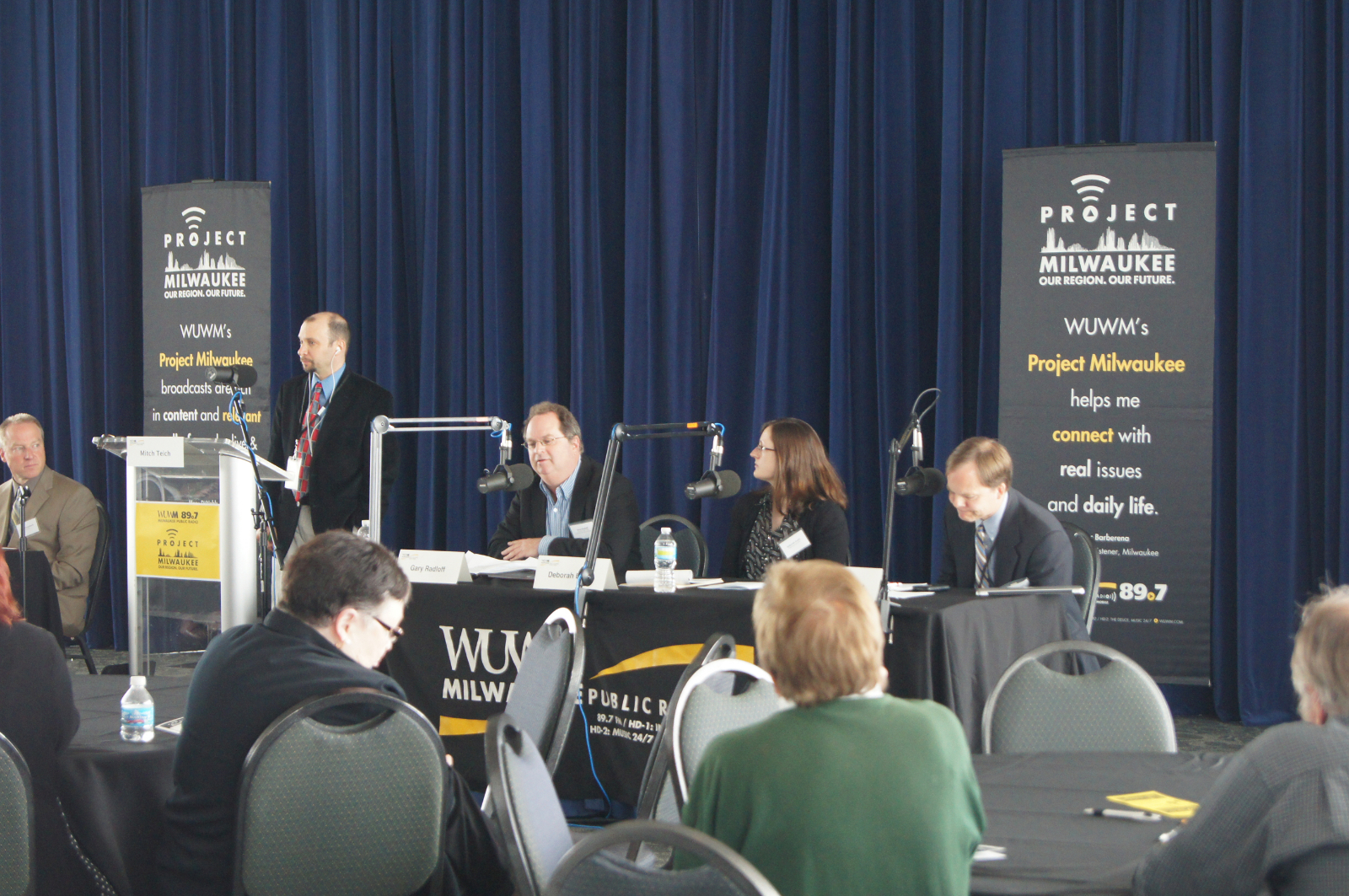 Project Milwaukee: Power Switch Forum panel.