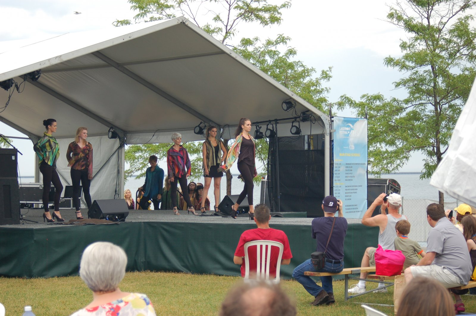 Fashion Show Lakefront Festival of the Arts