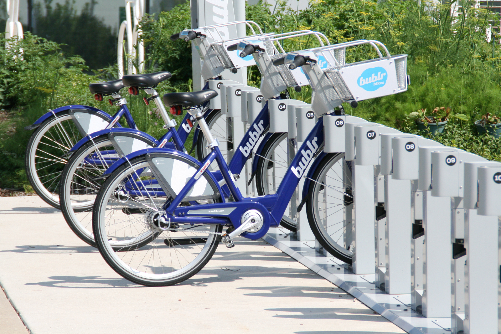 Bublr Bikes at Discovery World