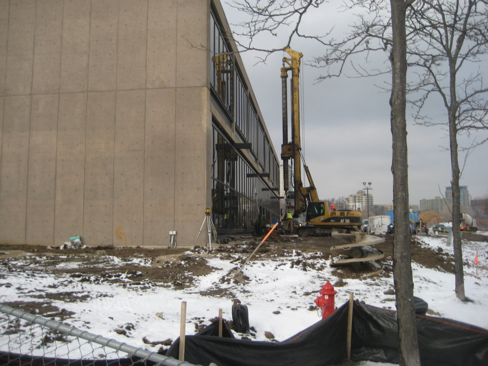 Work has started on the Milwaukee Art Museum expansion project.
