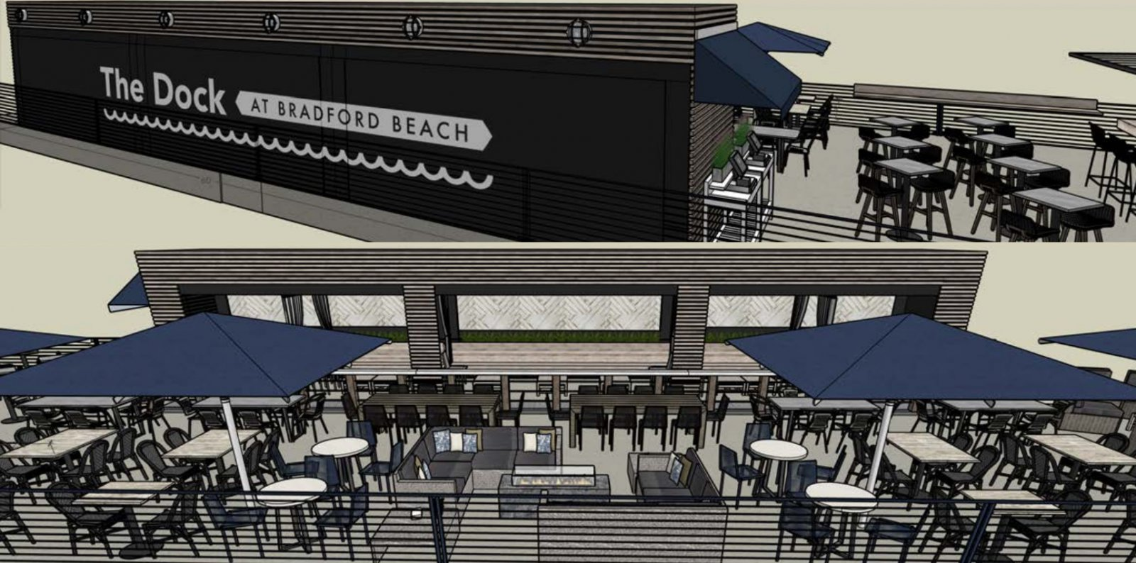 Bradford Beach Bar Plan