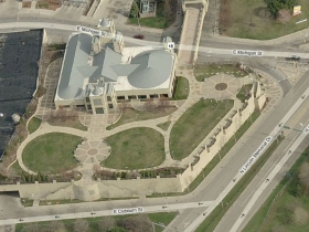 Downtown Transit Center Aerial