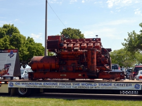GE Waukesha engine from the World Trade Center