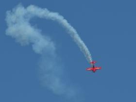 Stunt flying