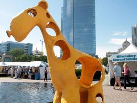 The Lakefront Festival of Art Sculpture Garden