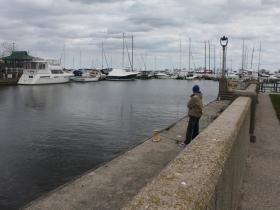 Fishing at McKinley Marina