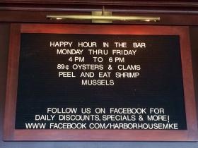 Happy Hour deal
