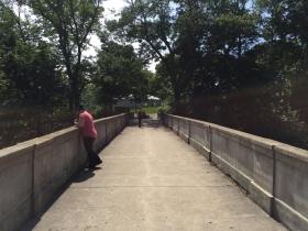 Lake Park Arch Bridge Over Ravine Road