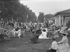 Lake Park Concert Photo - 1910