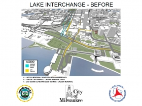 Lake Interchange - Currently