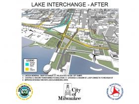 Lake Interchange - After