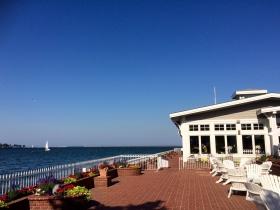 Harbor House patio