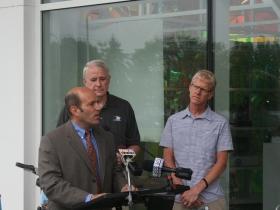 Bruce Keyes explains the benefits of bike-sharing.