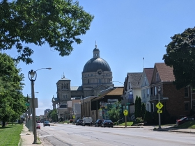 Lincoln Avenue landmark - Basilica of St. Josaphat