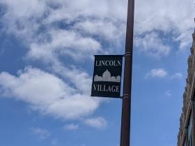 The Lincoln Village neighborhood