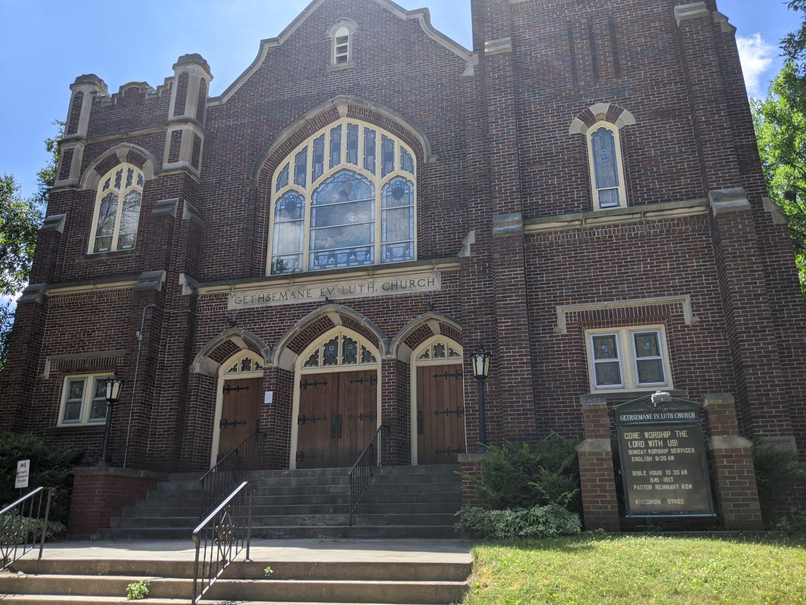 Gethsemane Ev Lutheran Church, 2827 W. Harrison Ave.