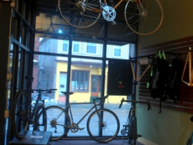 Ben's Cycle front window