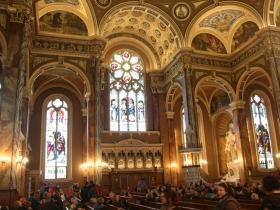 Inside the Basilica of St. Josaphat.
