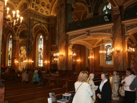 The Interior of the Basilica of St. Josaphat.