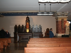 Church in the basebment of the Basilica of St. Josaphat.