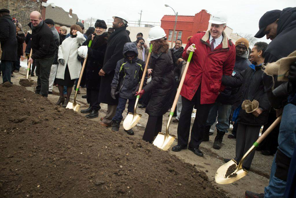 Innovation and Wellness Commons Phase 1 Groundbreaking.