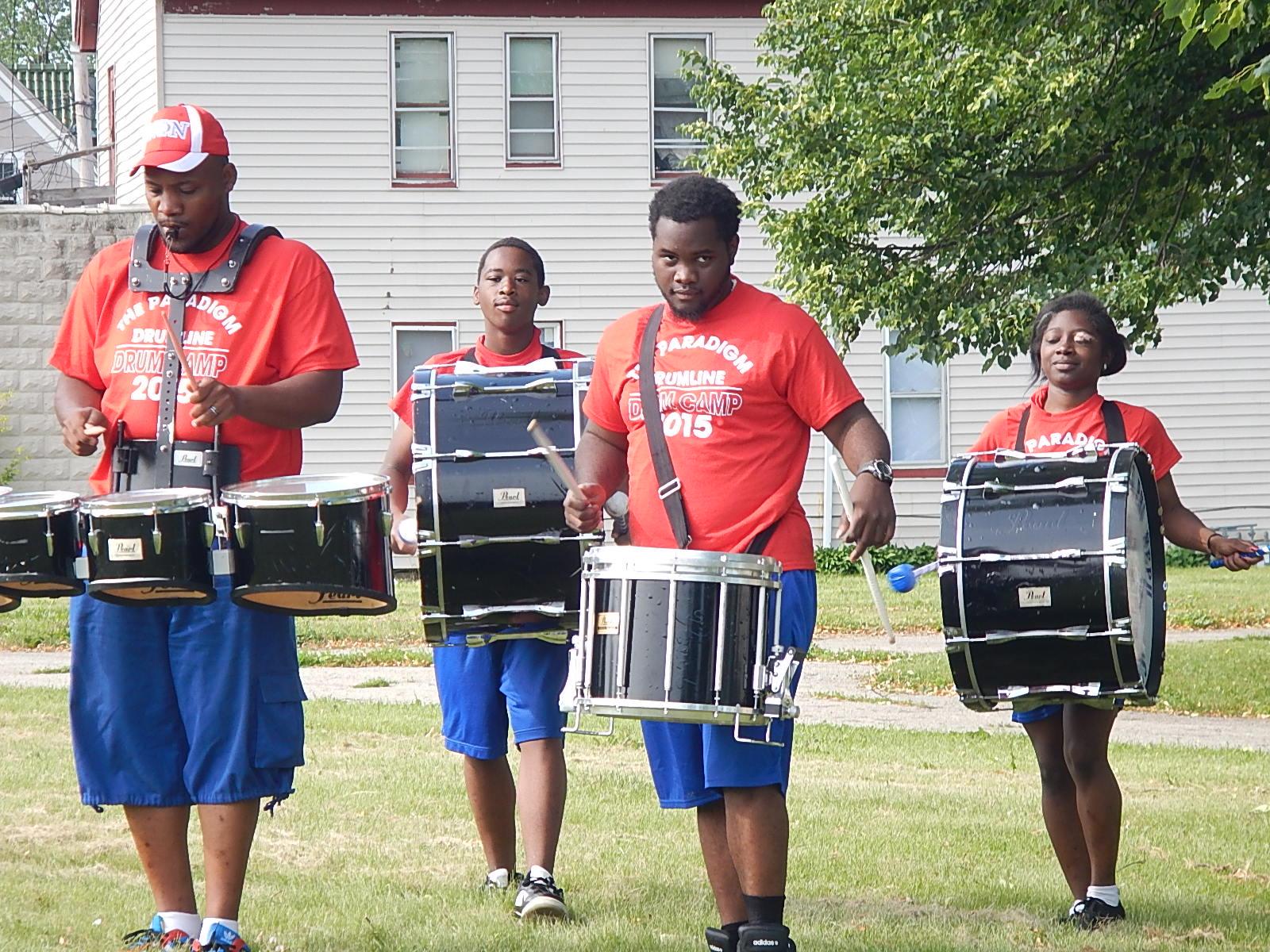 The Paradigm Drumline Bandcamp