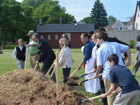 Johnsons Park groundbreaking