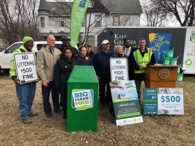 Big Clean MKE Press Conference Photo