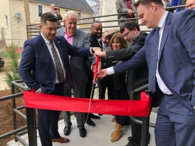 Legacy Lofts Ribbon Cutting