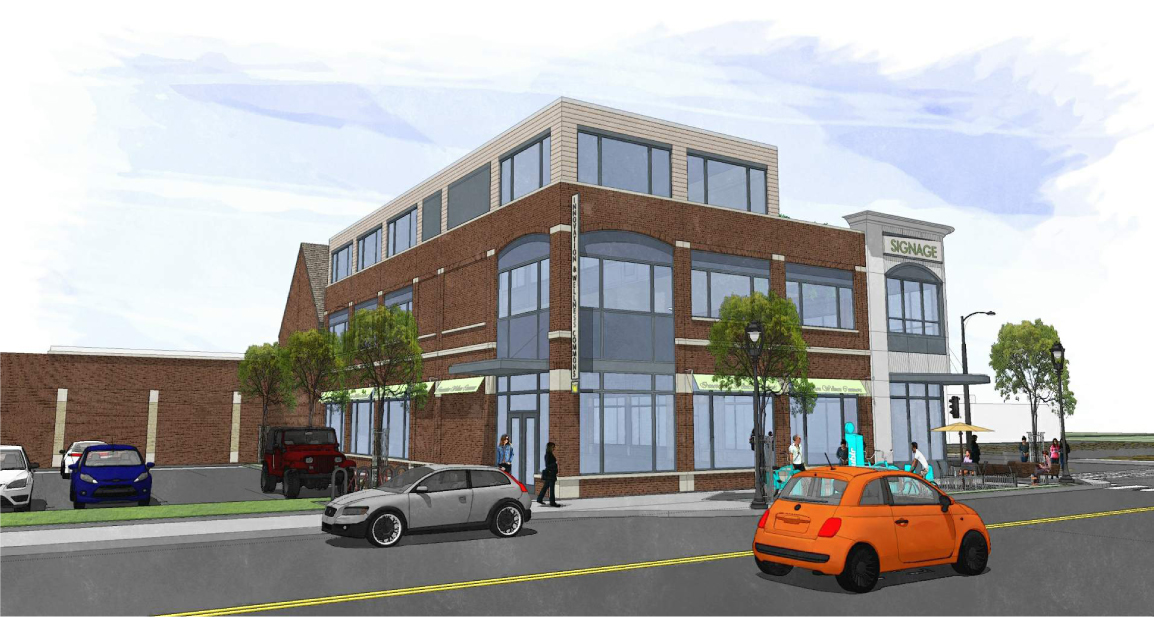 Innovations and Wellness Commons Phase 2 Rendering