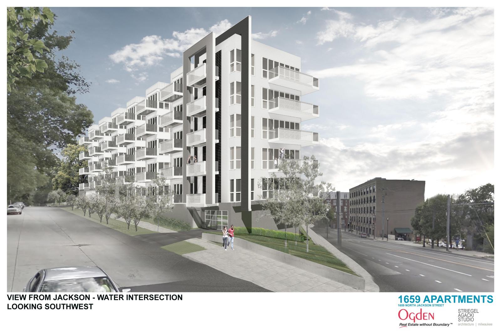 1659 Apartments Rendering