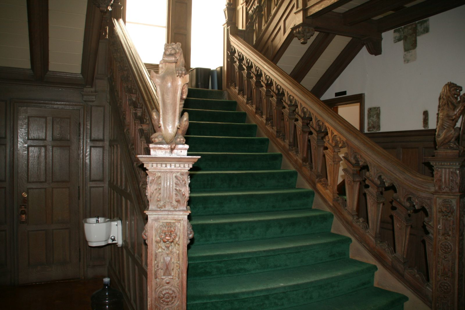 Goll House Stairs