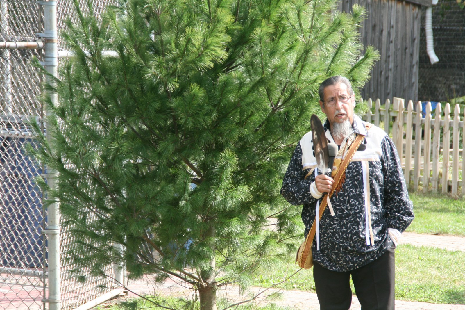 Robert Brown of the Onedi Nation