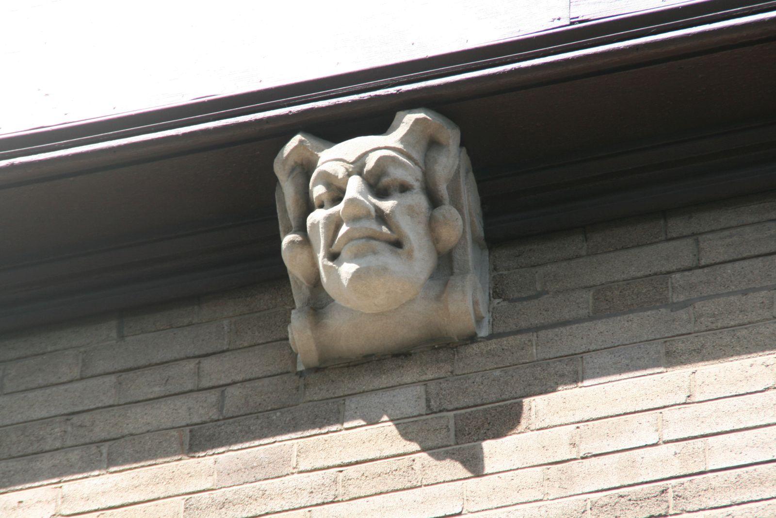 Goll House Facade