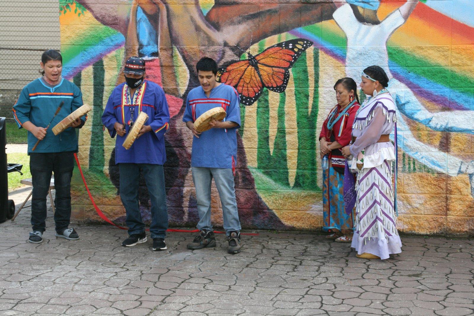 Menominee Tribal Drummers