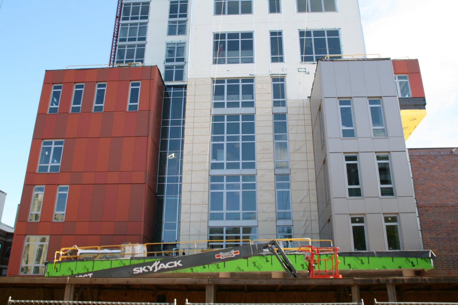 Saint John\'s on the Lake North Tower Construction