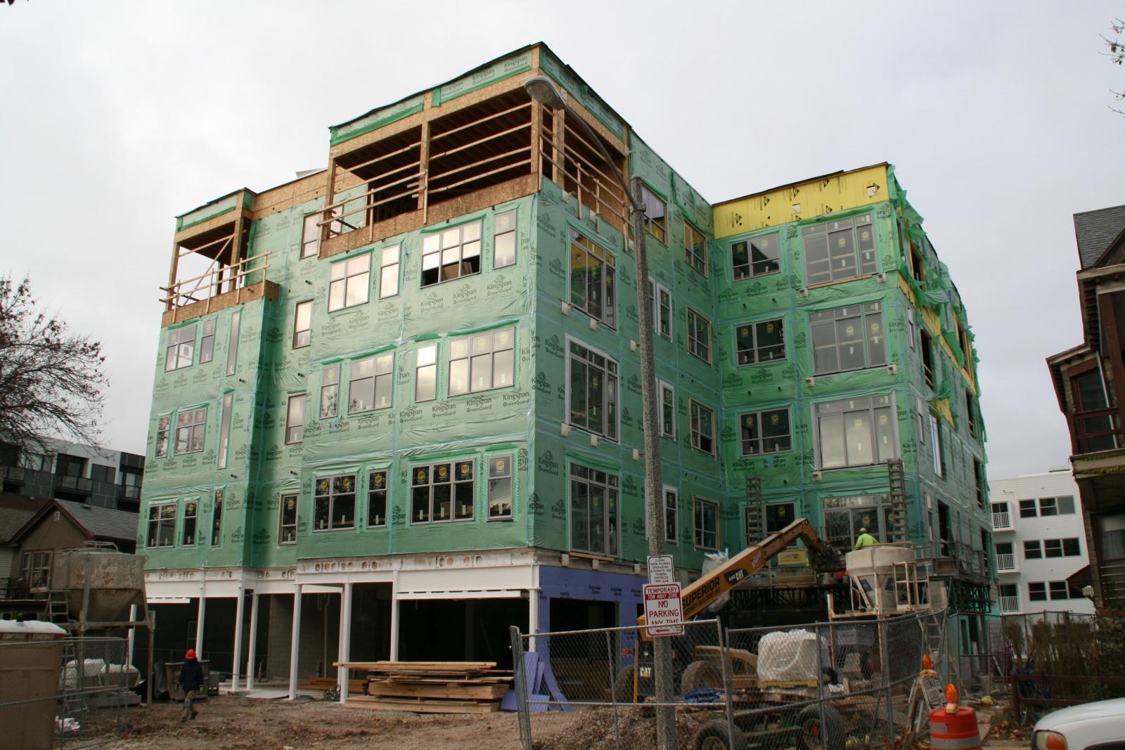 1627 N. Jackson St. Construction