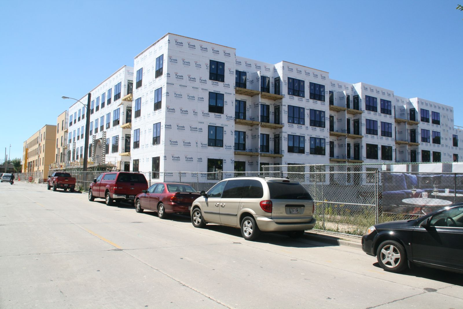 River House Apartments Construction